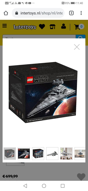 Lego 75252 Imperial Star Destroyer (LAAGSTE PRIJS OOIT)