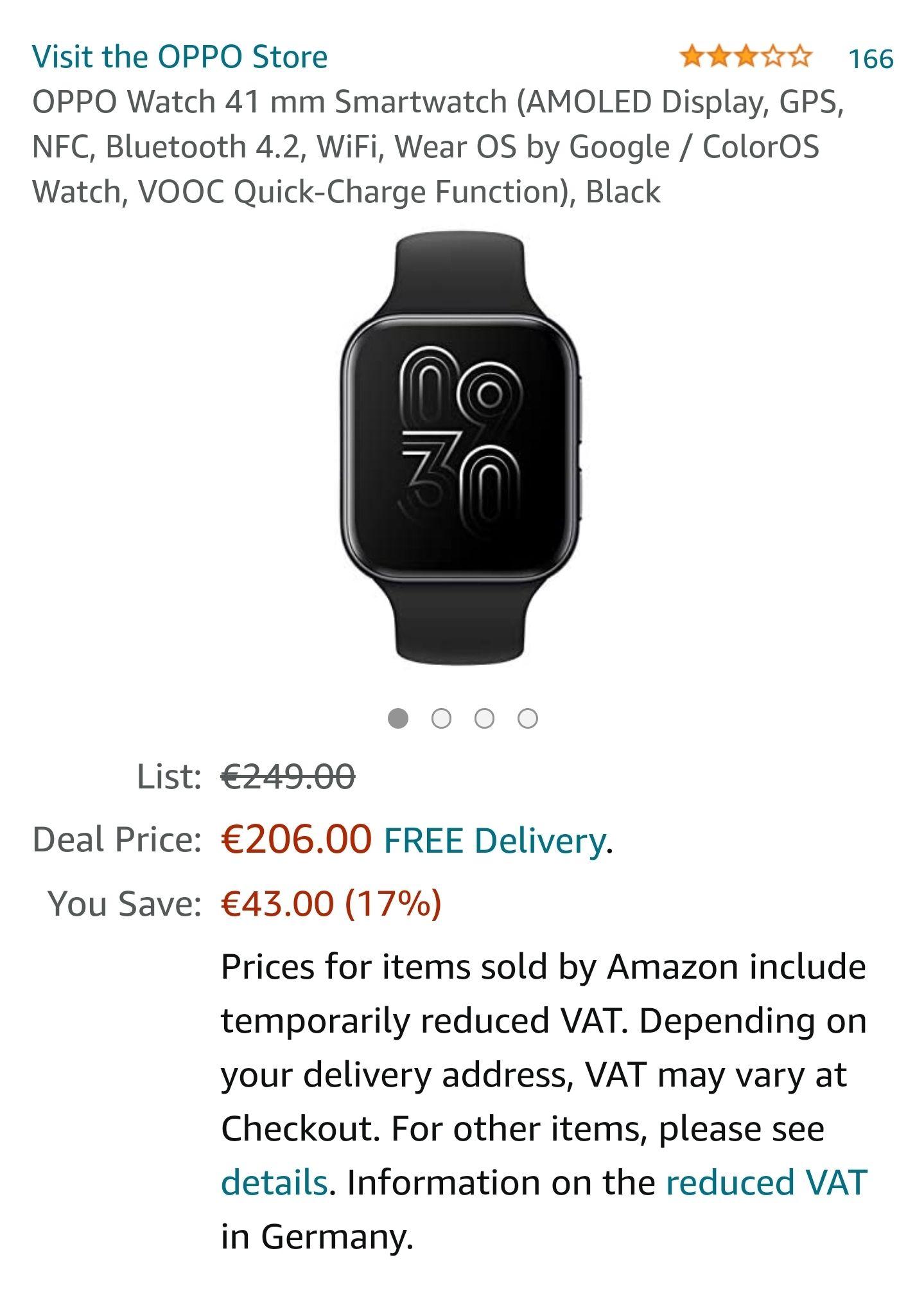 Oppo Watch 41mm Smartwatch