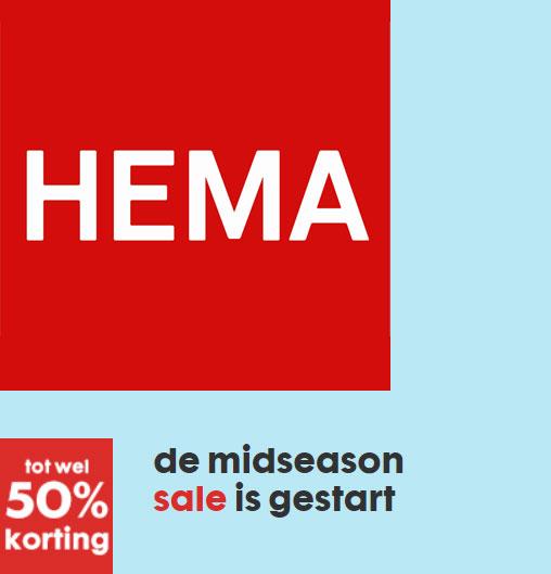 Mid Season SALE gestart @ HEMA