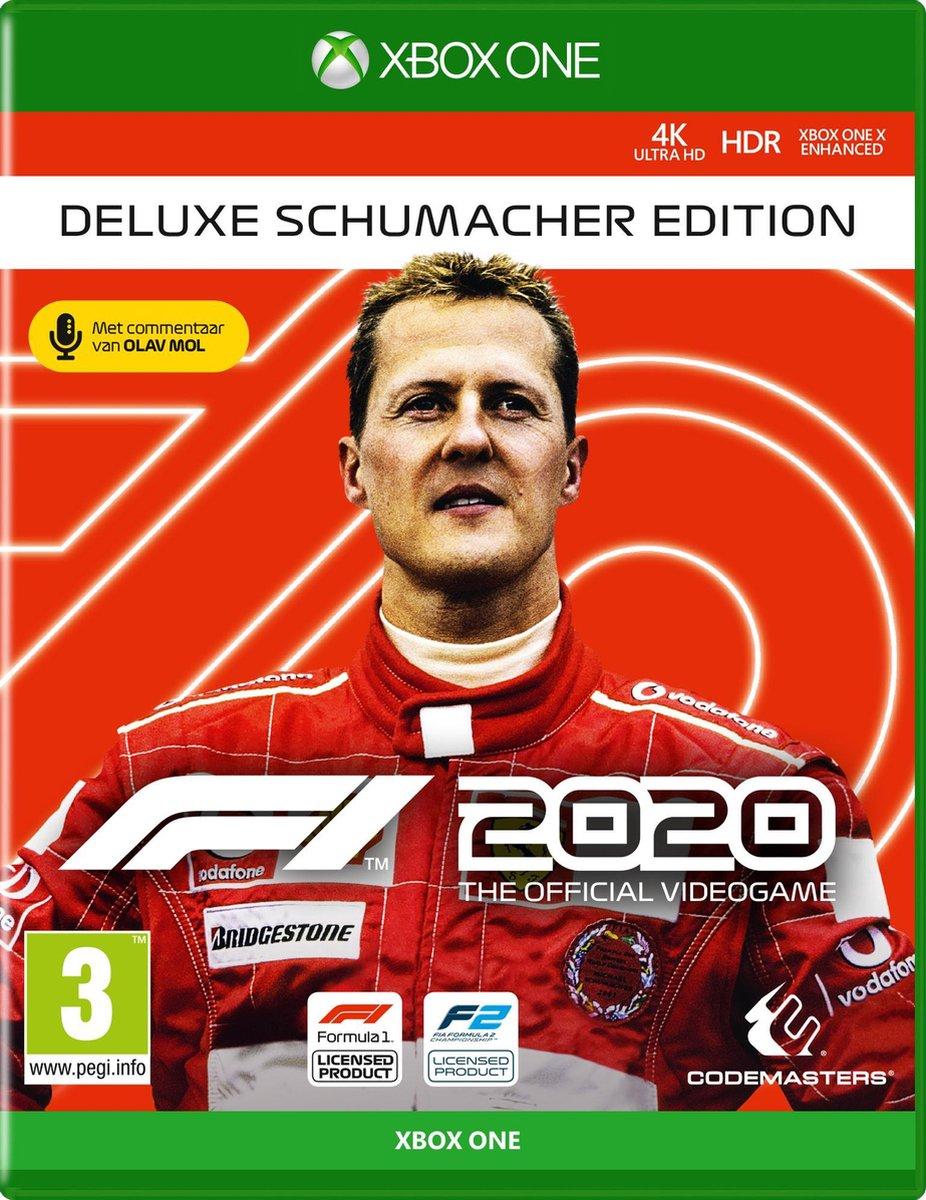 [Xbox One] F1 2020 Deluxe Schumacher Edition - Argentijnse key (VPN nodig voor inwisselen)