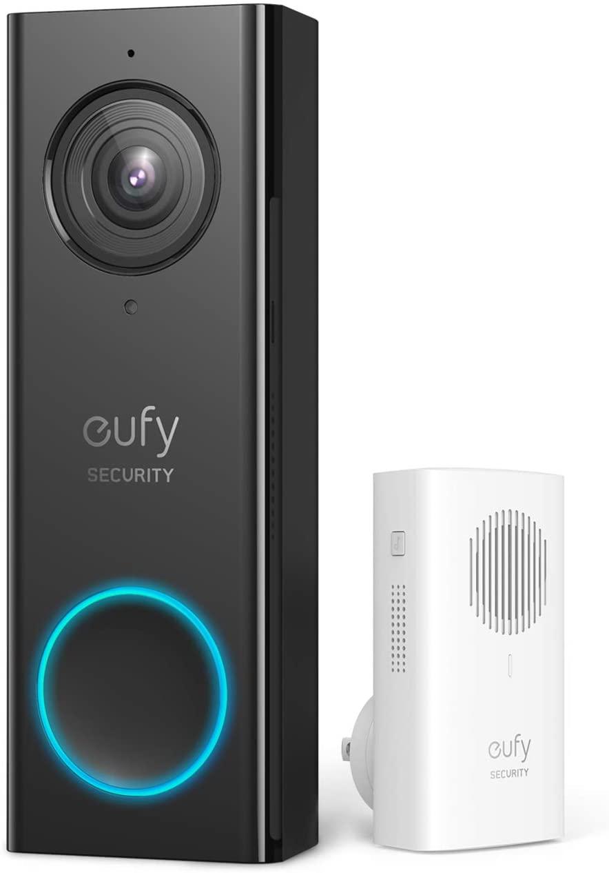 Eufy Security deurbel, wifi, met HD 2 K, 135,99 via Amazon NL