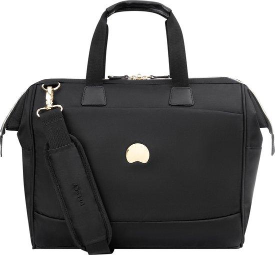 Delsey Montrouge Aktetas dames zwart voor €23,99 @ Bol.com