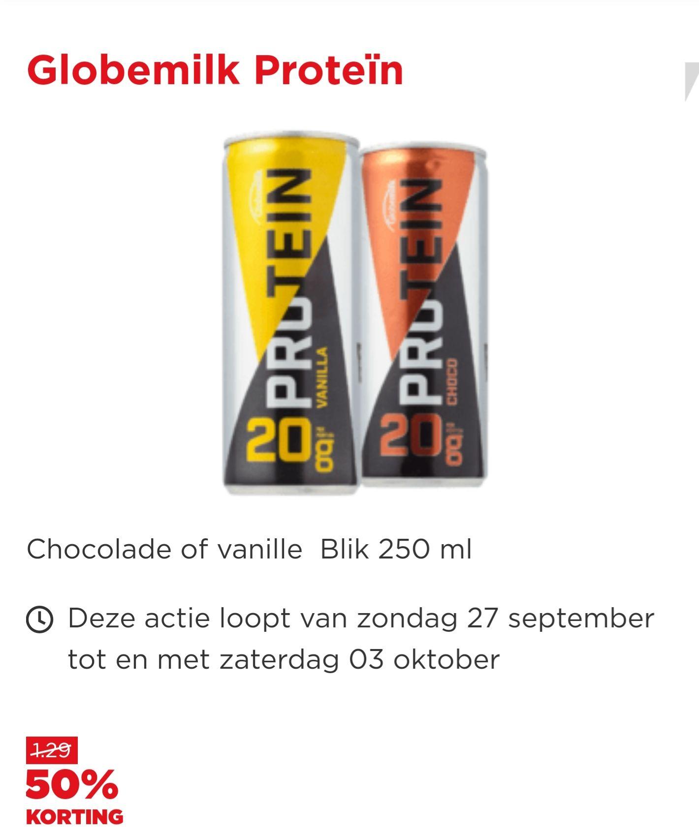 Globemilk Protein drankje