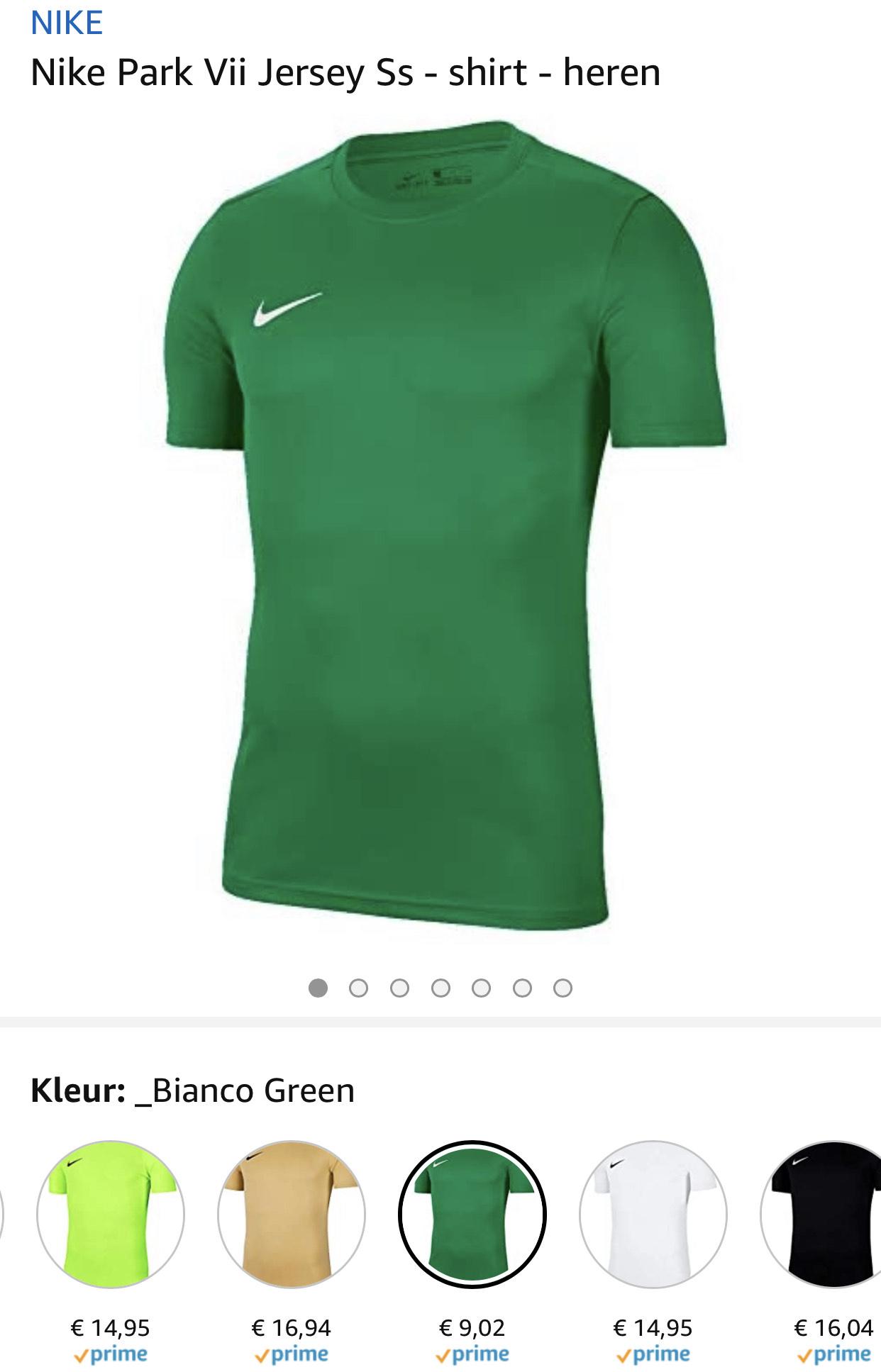 Nike Heren t-shirt vanaf €9,02