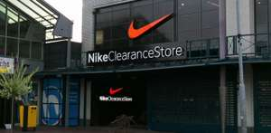 50% op alle kleding in Nike Clearance Store (outlet) Utrecht Overvecht