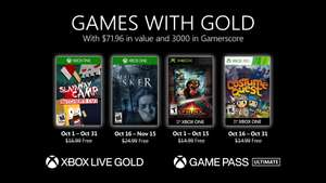 Games with Gold voor oktober 2020 @ Xbox Store