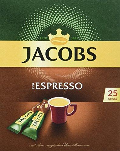 25 sticks Jacobs Douwe Egberts Espresso voor €1,70 @ Amazon.de (6,8ct/kop) --> 10% of 15% extra korting bij direct opzegbaar abonnement
