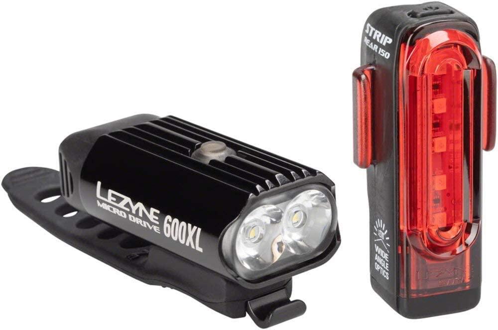 Lezyne Micro 600 XL Strip Rear 150 Fietsverlichting, LED, oplaadbaar, USB