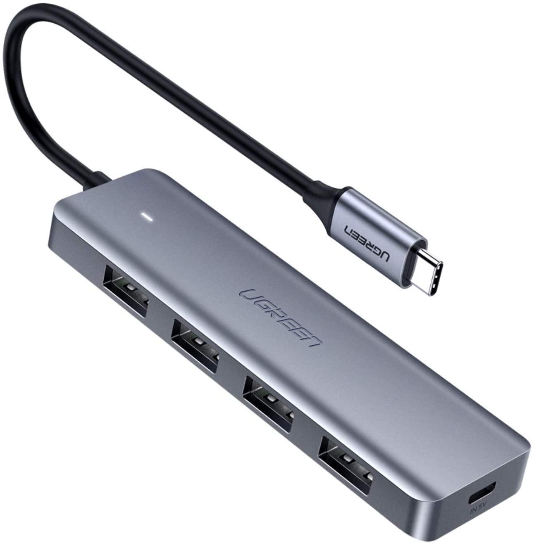 UGREEN USB C naar USB 3.0 Hub/adapter voor €9,48 @ Amazon.nl