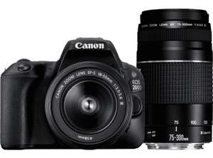Canon EOS 200D double zoom kit
