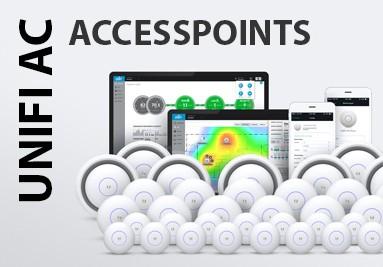 €10,- korting op Ubiquiti Unifi Accesspoints