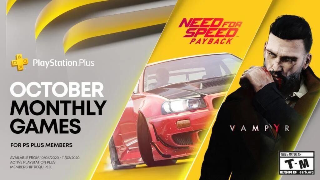 PlayStation Plus games voor oktober 2020 @ PSN