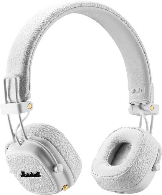 Marshall Major III Bluetooth Wit - On-ear Koptelefoon