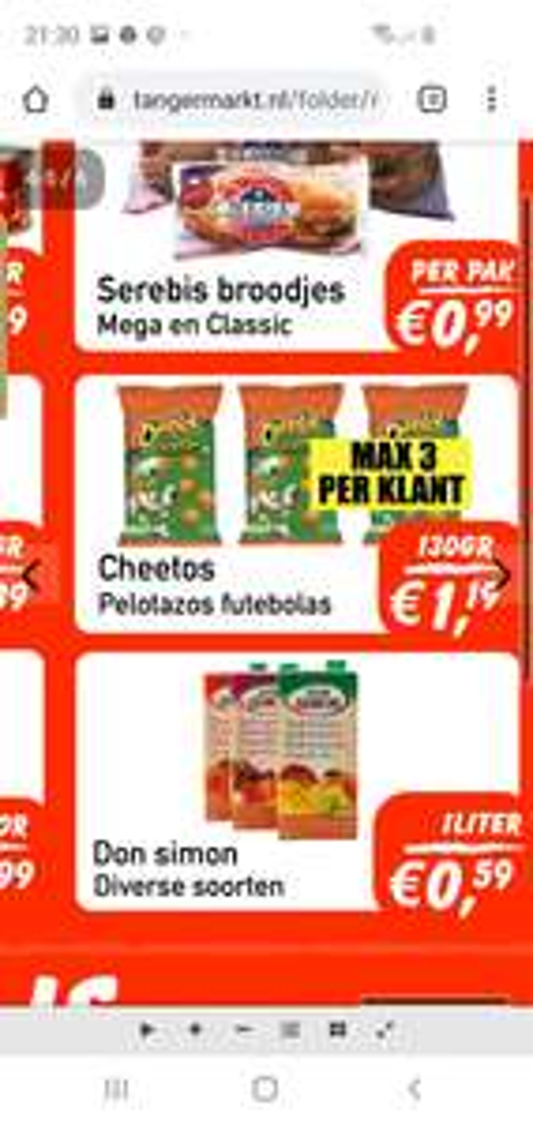 Lokaal tanger markt Cheetos pelatoz