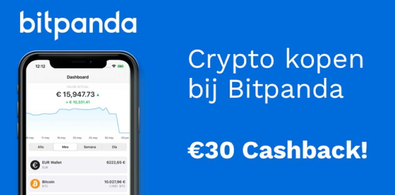 [gratis geld] €30 cashback nieuwe klanten Bitpanda