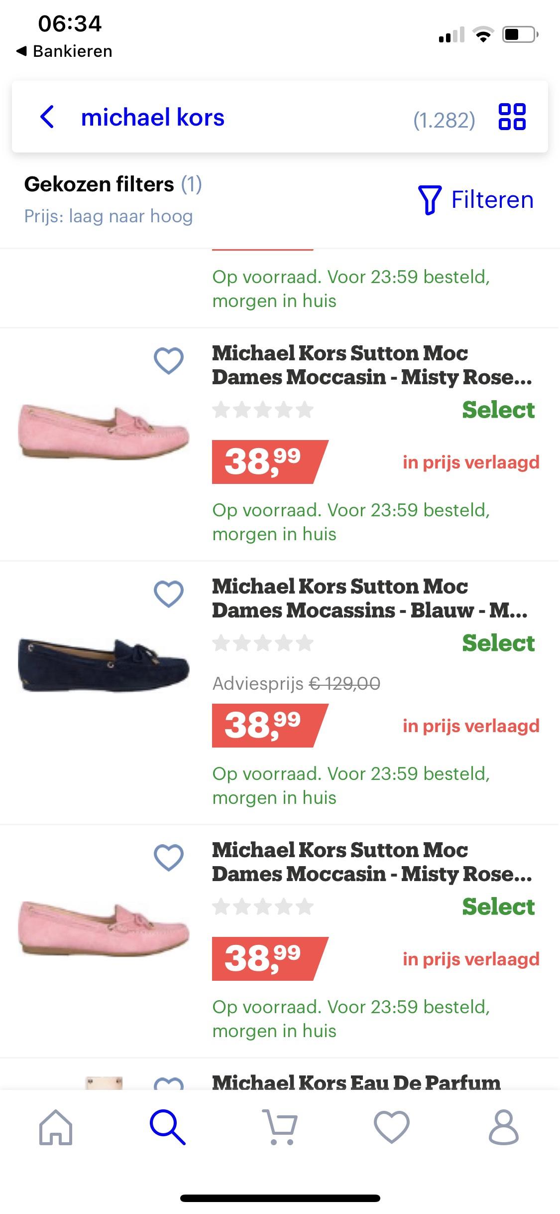 Michael kors schoenen en slippers