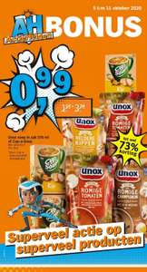 AH ActieHelden, Unox soep in zak 570 ml of Cup-a-Soup