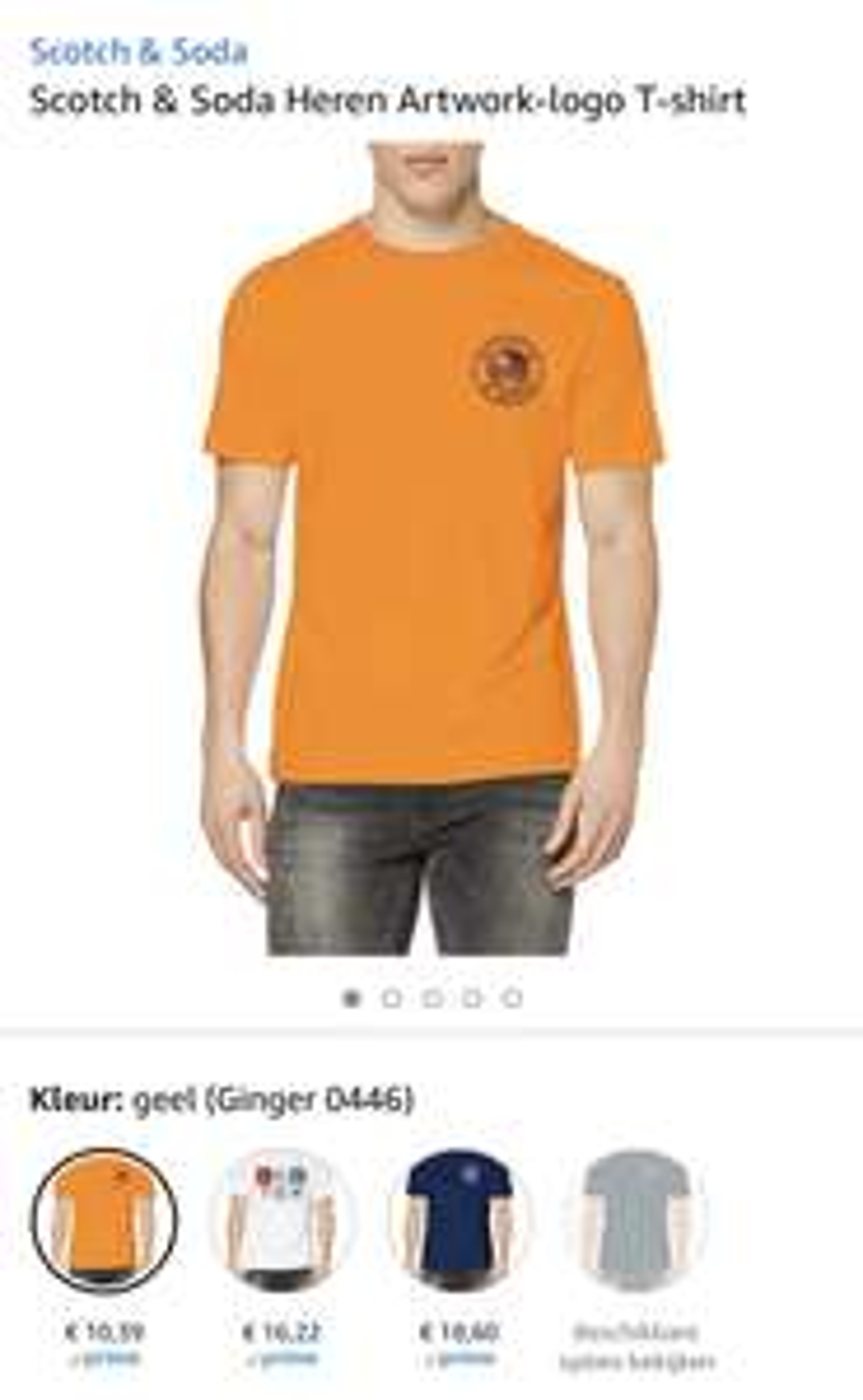 Scotch & Soda Heren T-shirt vanaf €10,39