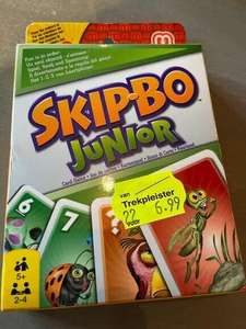 Skip-Bo junior bij Prijsmepper