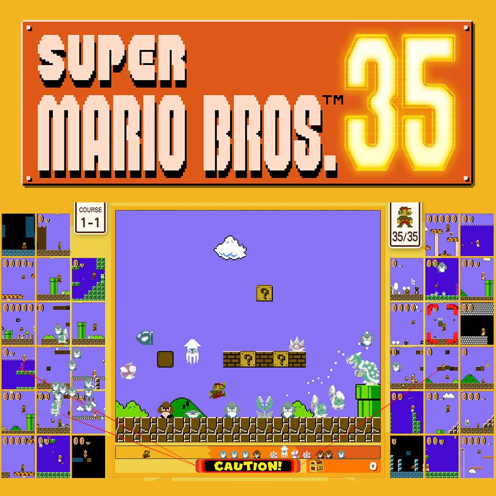 Gratis download voor Nintendo Switch Online leden: Super Mario Bros. 35