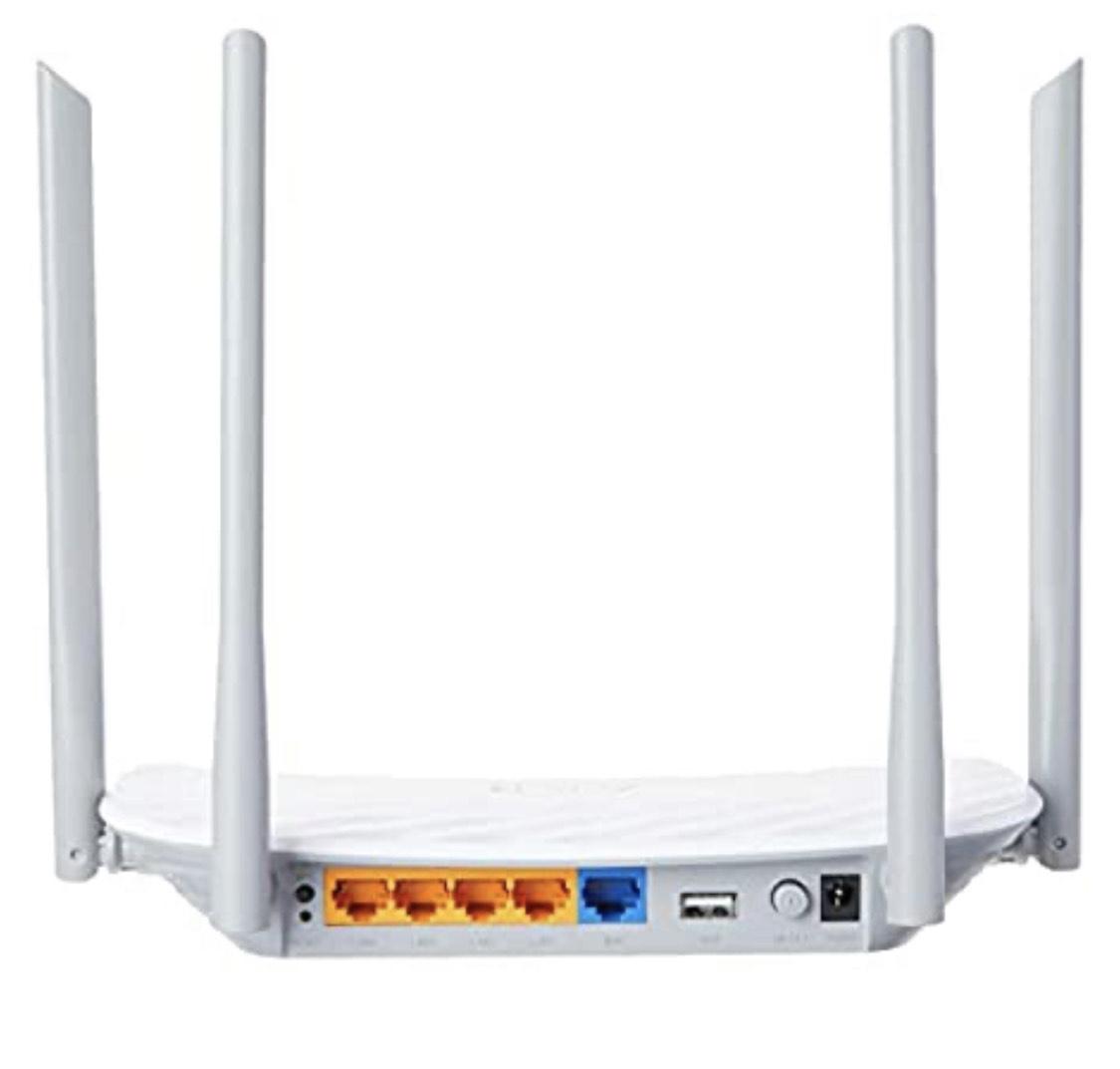 TP-Link Archer C5 AC1200 Dual Band Gigabit WiFi Router @ Amazon.nl