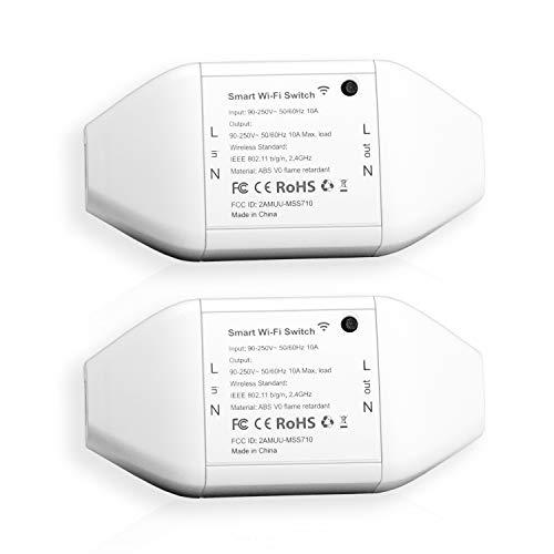 Meross WLAN schakelaar voor elektrische apparaten 2 stuks @ Amazon.de