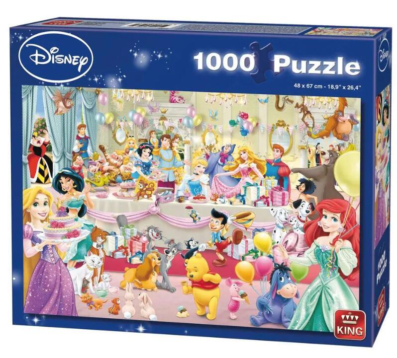 King Disney Puzzel 'Birthday' voor €3,89 @ Trekpleister/Kruidvat