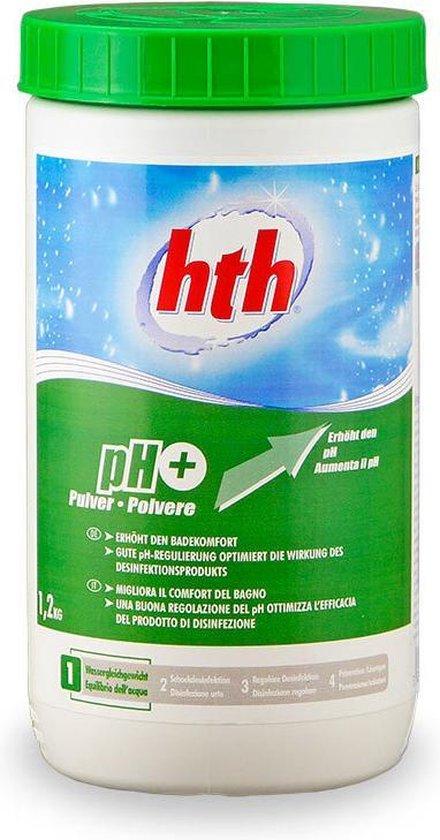 HTH Plus ph verhoger voor zwembad 1,2 kg @ Bol.com Plaza