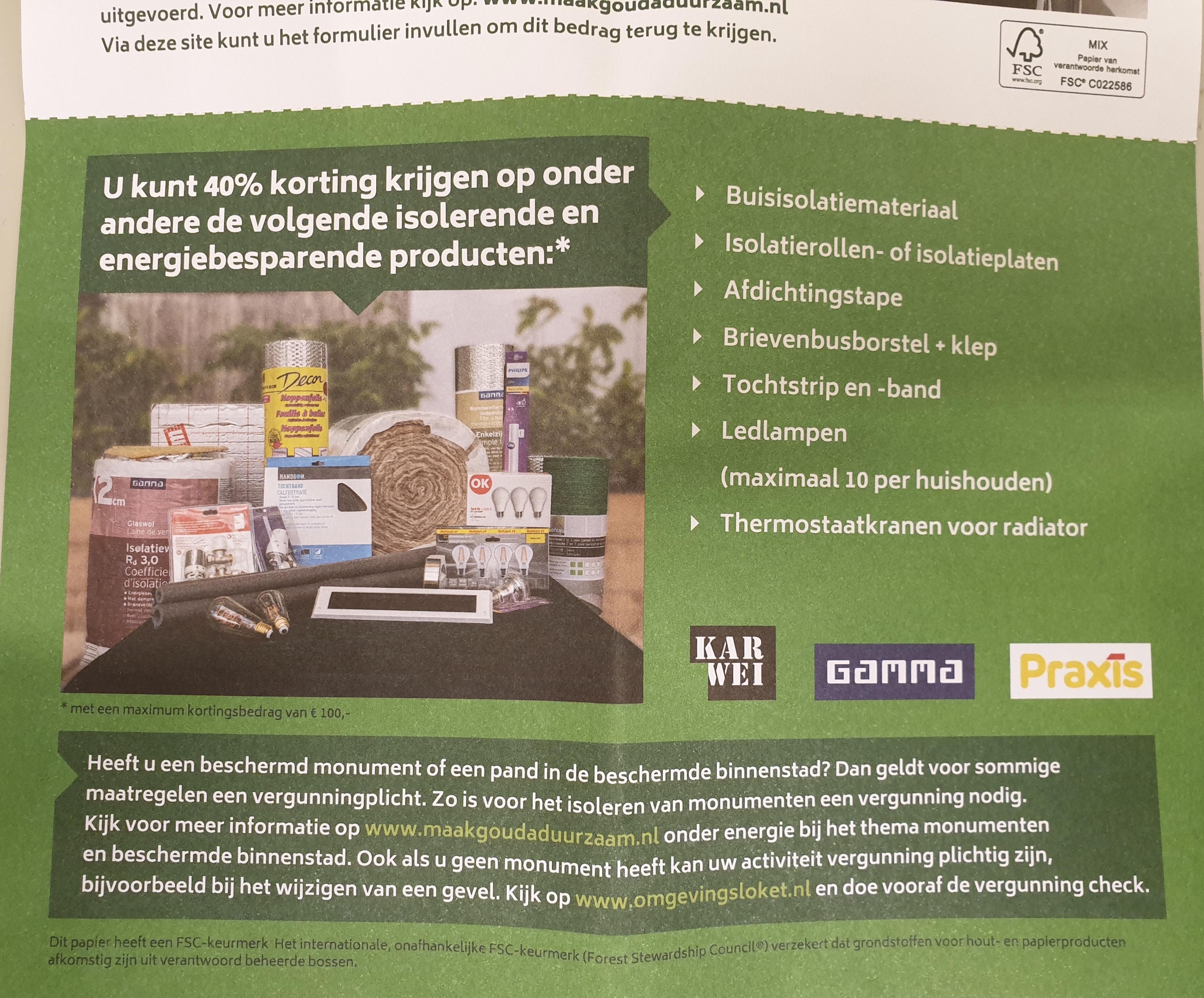 [Lokaal Gouda] 40% korting op energiebesparende producten o.a. Philips Hue!