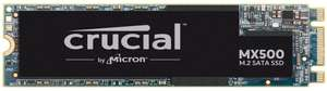 Crucial MX500 Interne SSD, 1 TB, TLC, SATA, M.2 bij Amazon NL