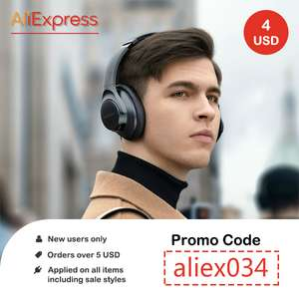 Kortingscode nieuwe gebruikers - AliExpress €3,41 korting