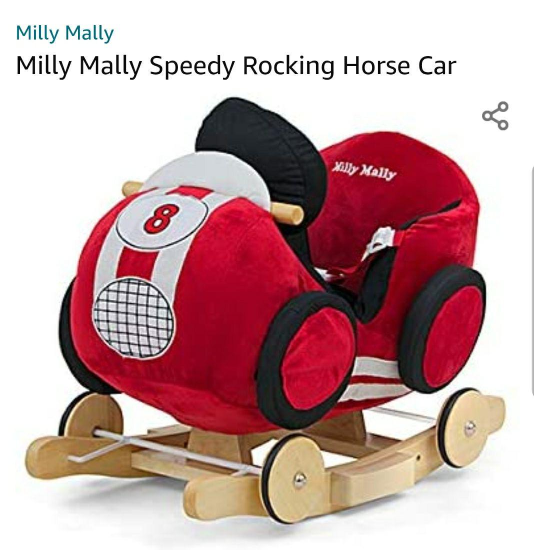 Milly Mally Speedy hobbelfiguur