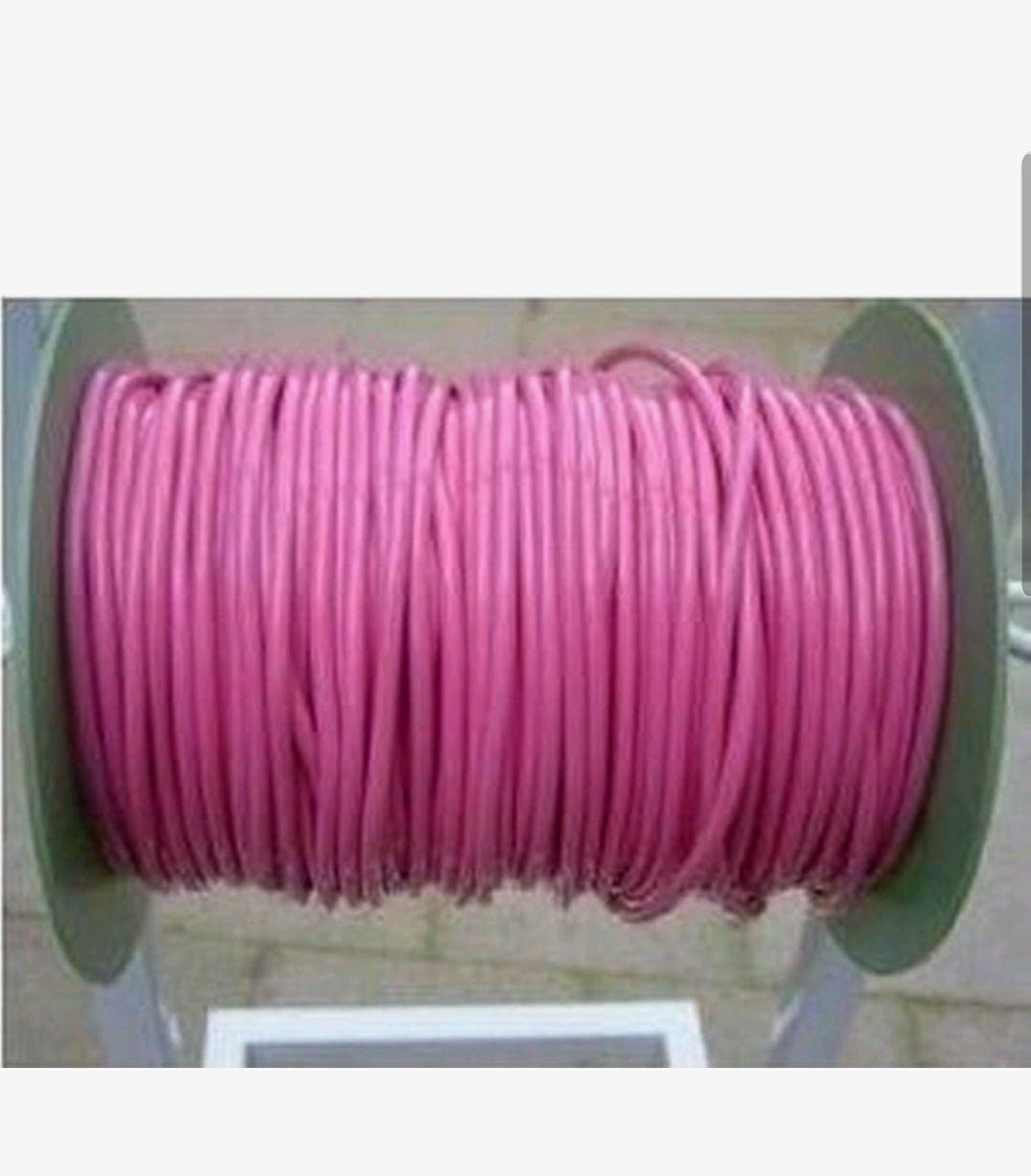 Springtouw op rol 5mm 120mtr roze
