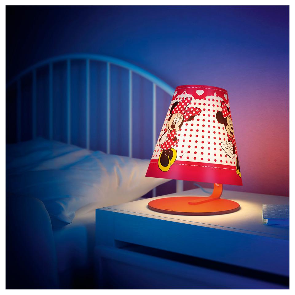 Philips tafellamp Minnie Mouse voor €17,50 @ LeenBakker