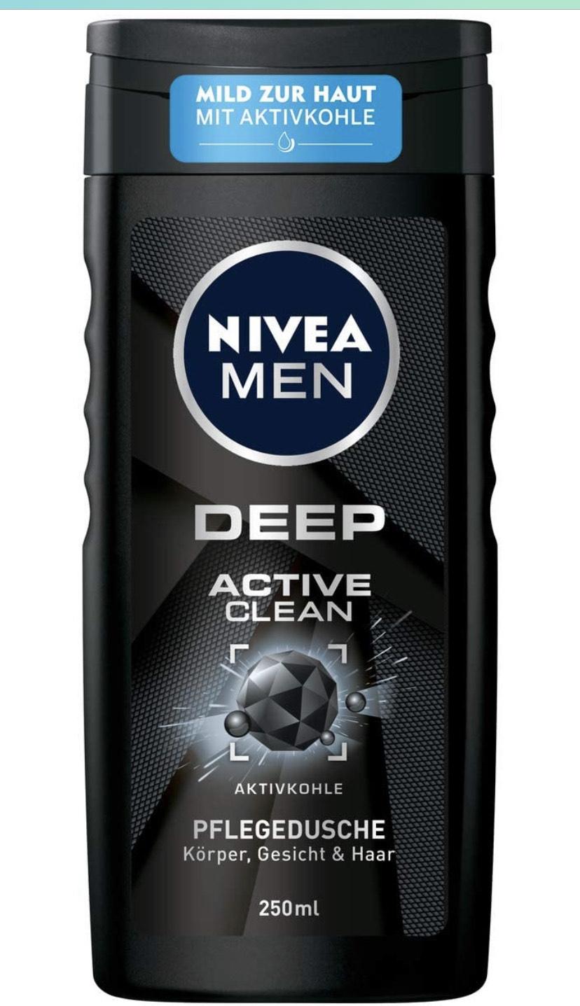 Nivea Men Deep Active Clean douchegel & andere Nivea producten met korting