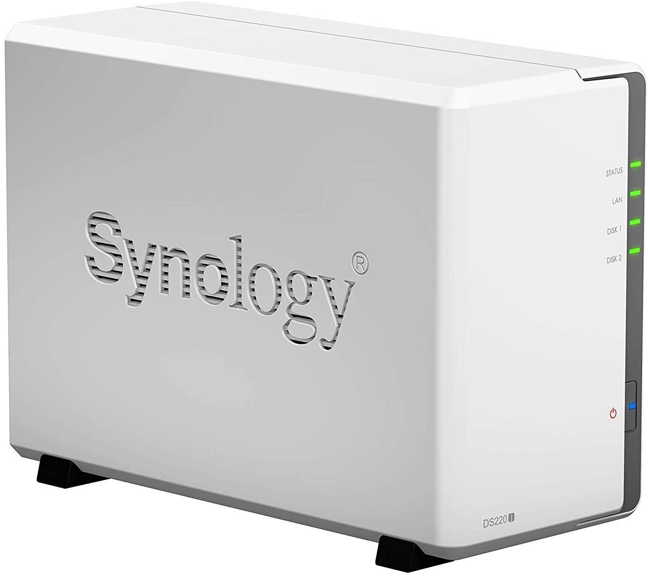 Synology DS220j DiskStation NAS Server 2-Bay incl 4TB