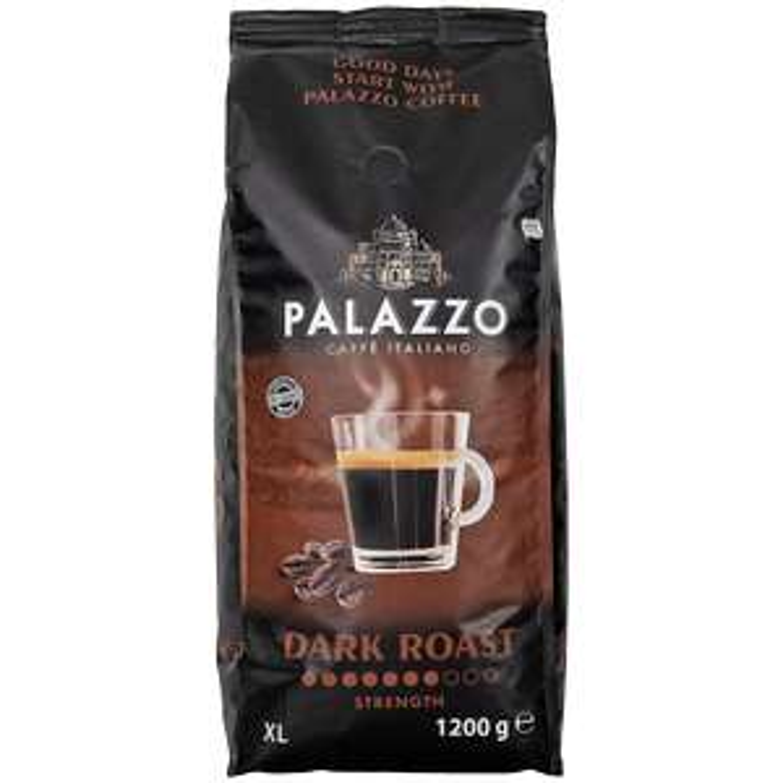 Action: Palazzo koffiebonen 1.2kg voor €4,88