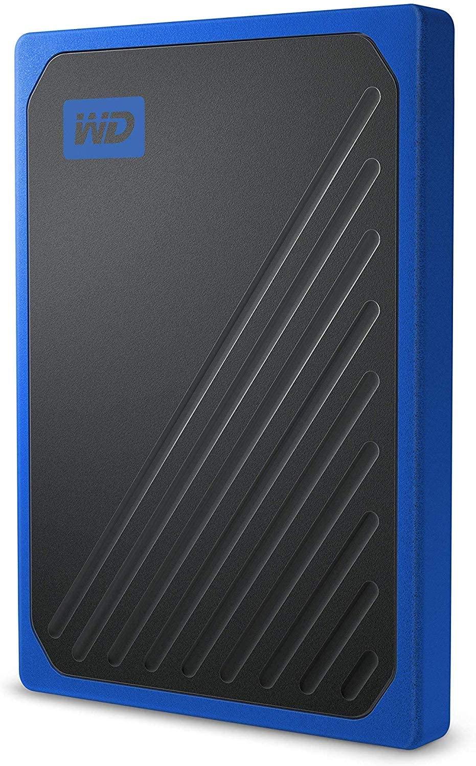 WD My Passport Go 500GB Blauw Extern SSD @ Amazon.nl
