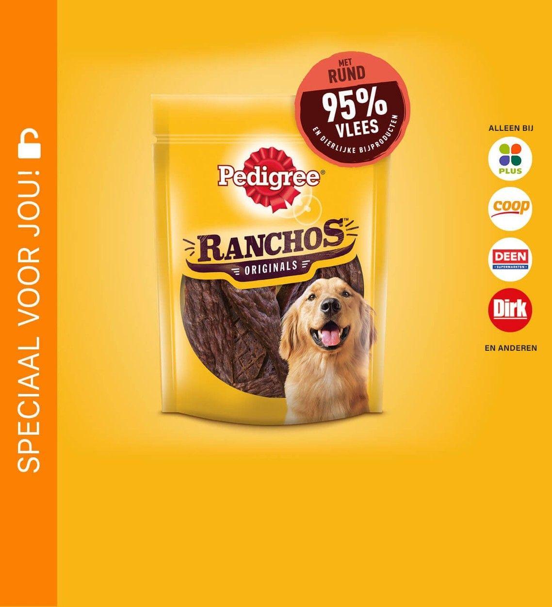 Pedigree Ranchos voor €0,50 @Scoupy