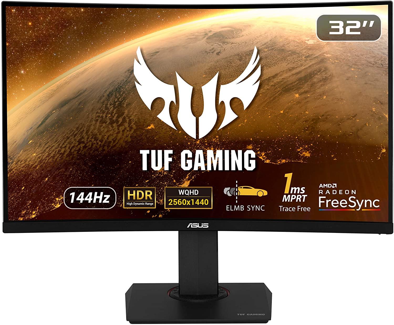 Asus TUF Gaming VG32VQ Zwart @ Amazon.nl