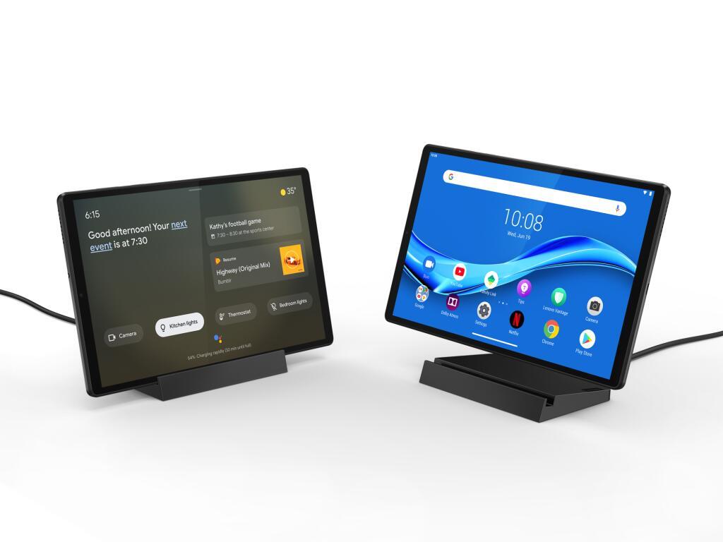 Lenovo Tab M10 FHD Plus (2nd Gen) + Smart Charging Station @ Media Markt