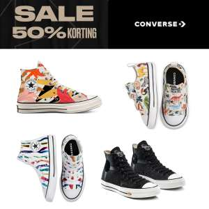 Early Access: 50% korting met code @ Converse