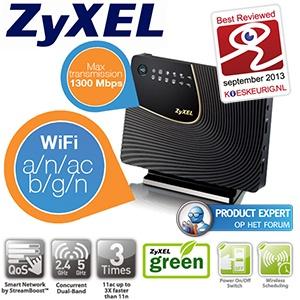 Zyxel NBG6716 router voor €85,90 @ iBOOD