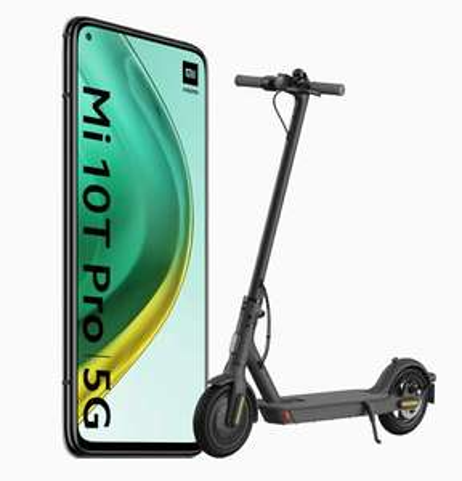 Xiaomi mi 10T pro 8GB/128GB + Xiaomi mi electronic scooter