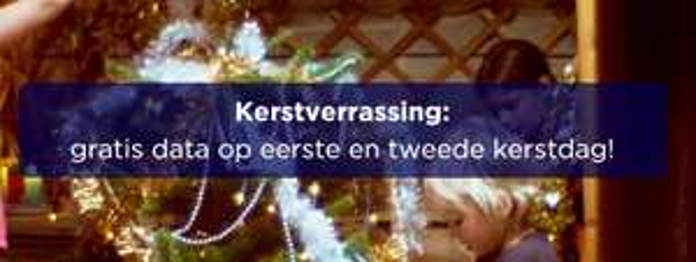 Gratis internet op 1e en 2e kerstdag (voor klanten met internetbundel) @ Hollandsnieuwe
