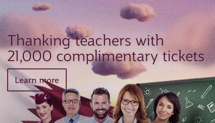 21.000 gratis vliegtickets voor onderwijs @ Qatar Airways