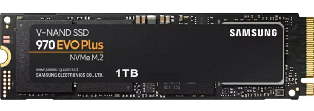 Samsung970 EVO Plus 1 TB M.2 NVMe