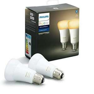 Philips Hue white ambiance bluetooth E27 dubbelpack