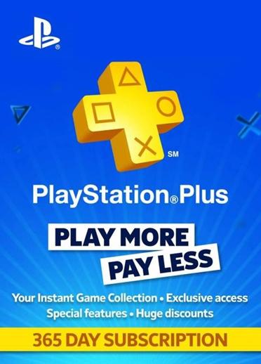 PlayStation Plus: lidmaatschap van 12 maanden