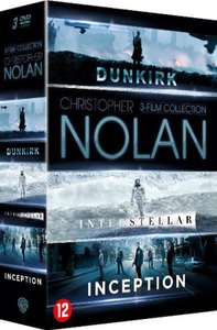 Christopher Nolan Boxset (Dunkirk, Interstellar & Inception)